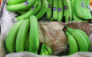 Мокрые и зеленые бананы. Что с ними делают и почему они такие
