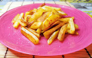 Жареная картошка. Как приготовить, чтобы не разваливалась