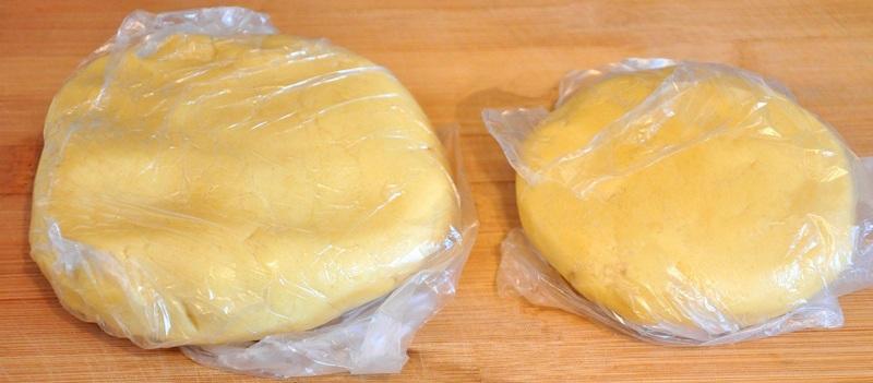 Тесто для лимонного пирога