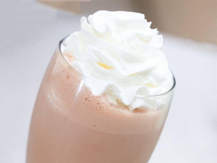 Сливки для молочного коктейля.