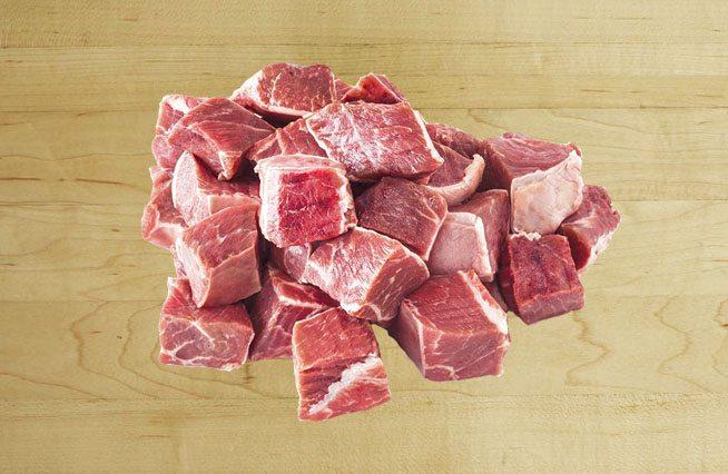 Мясо кусочками