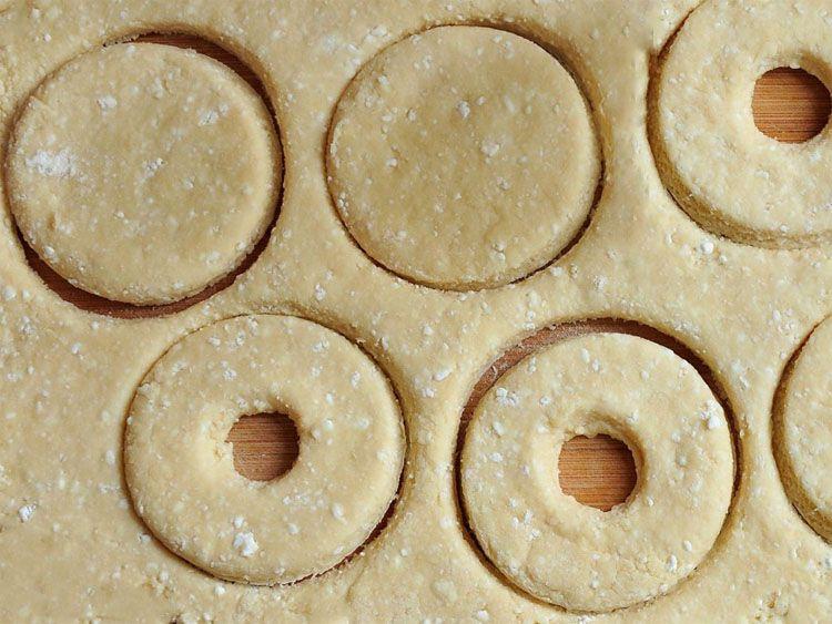 Вид формы пончиков