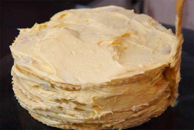 Смазка коржей торта