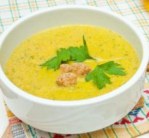Суп-пюре по-французски.