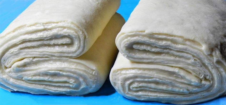 Дрожжевое слоеное тесто