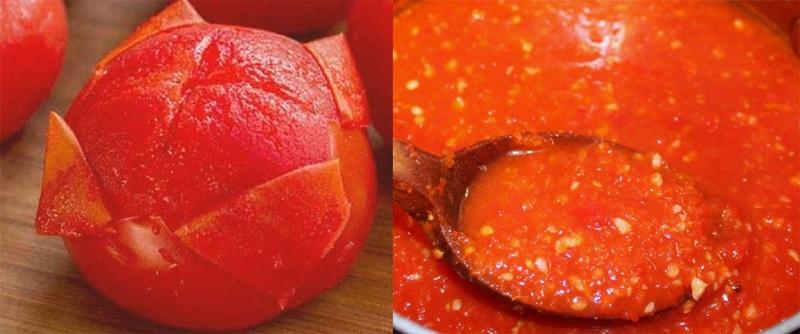 Соус из помидор