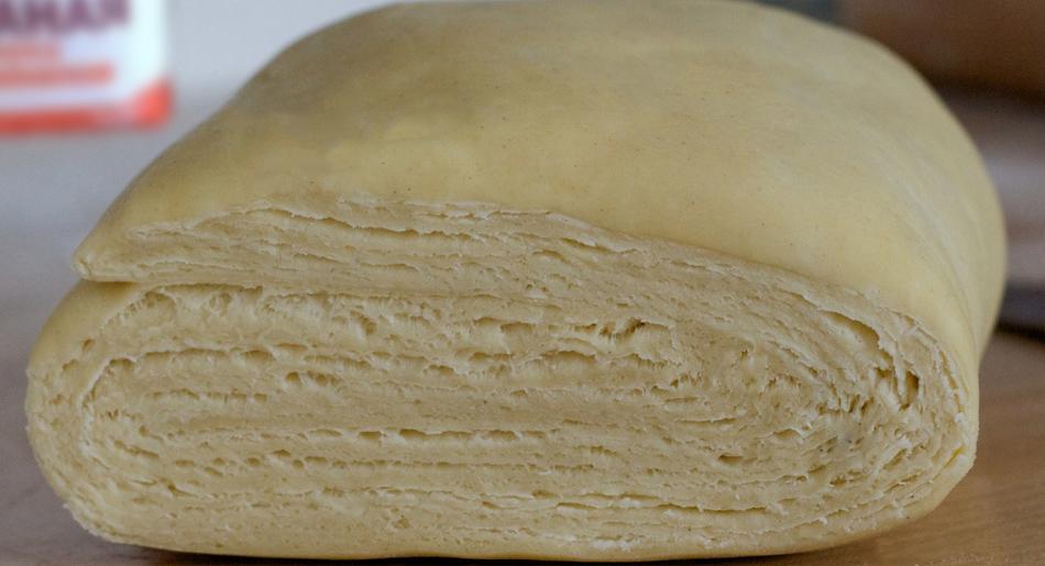 Рецепт слоеное тесто