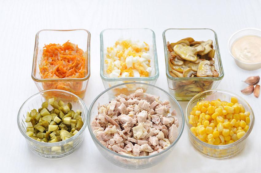 Ингредиенты для салаты