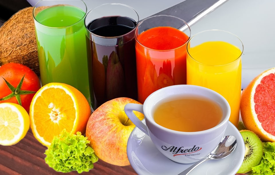 Полезные утренние напитки