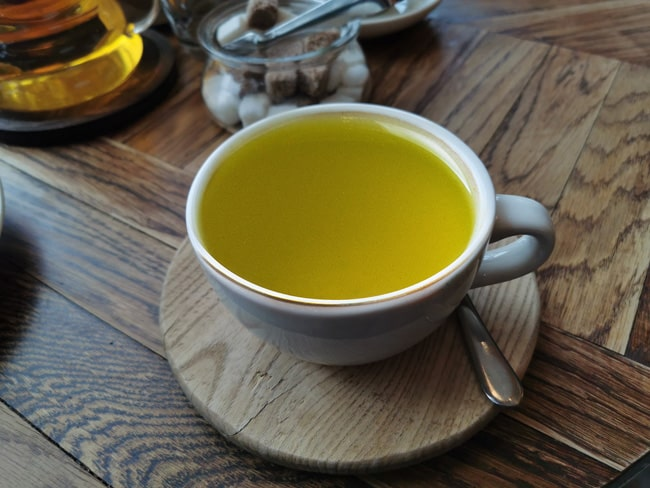 Напиток с утра чай